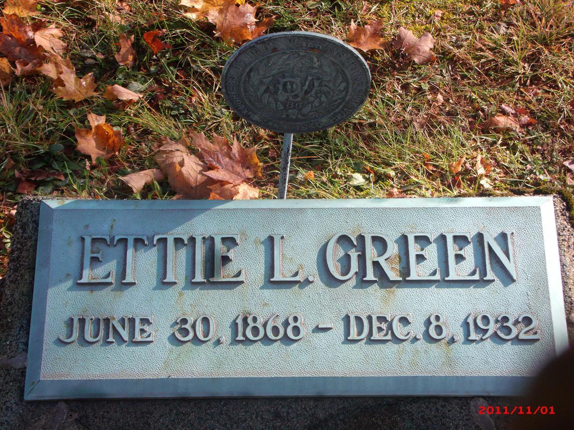 Etta Lucy Ettie <i>Shears</i> Green