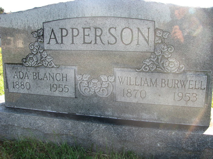 Ada Blanch <i>Taylor</i> Apperson