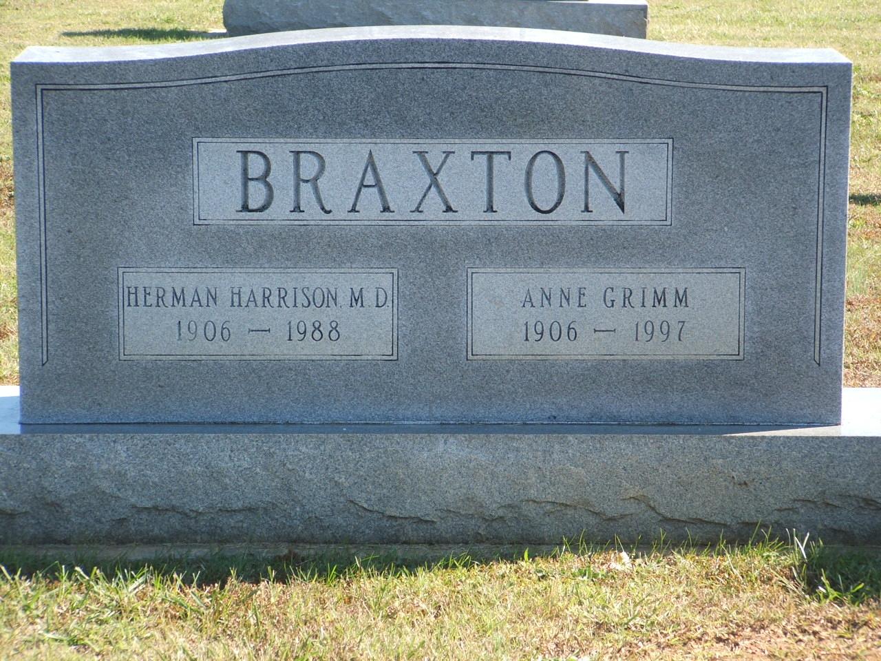 Anne <i>Grimm</i> Braxton