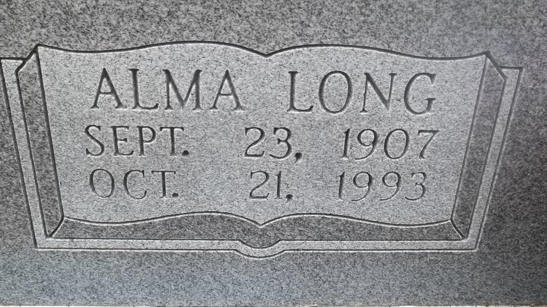 Alma Beatrice <i>Long</i> Busch
