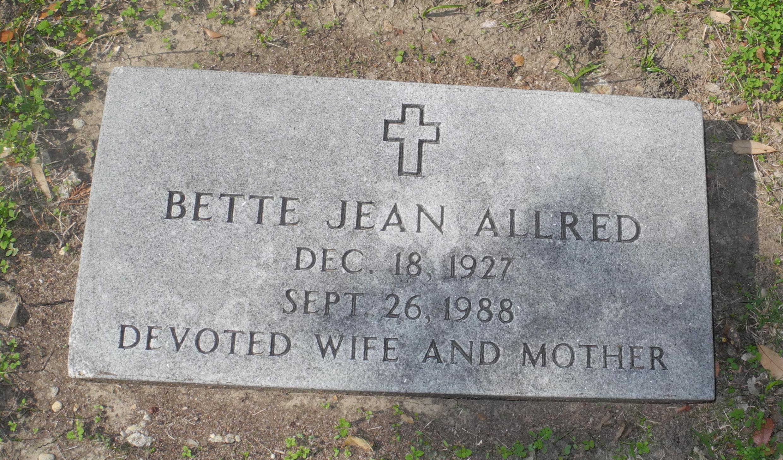 Bette Jean Allred