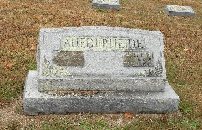 Margaretha M. Mollie <i>Koenig</i> Aufderheide