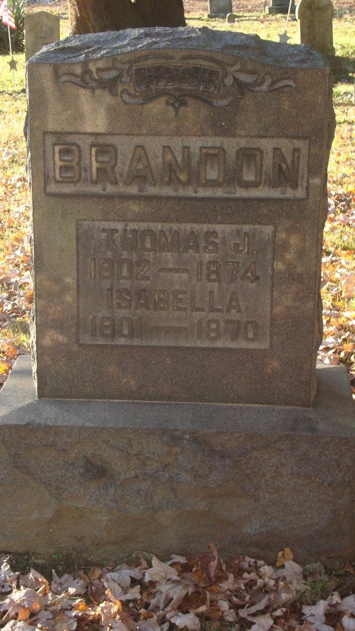 Isabella <i>McCracken</i> Brandon