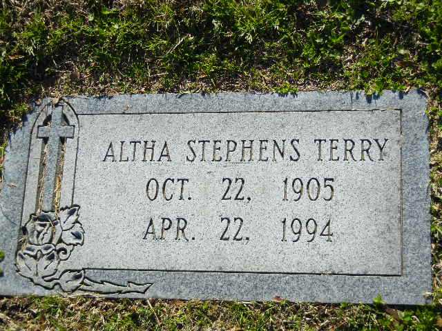 Altha <i>Stephens</i> Terry