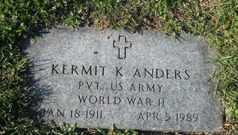 Pvt Kermit K. Anders