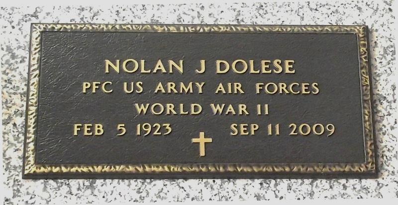 Nolan Joseph Dolese, Sr