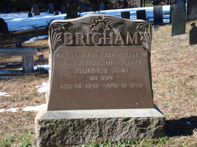 Rev Joseph Webb Brigham