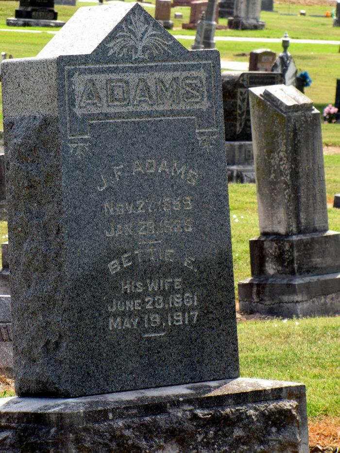 Margaret Elizabeth <i>Nowlin</i> Adams