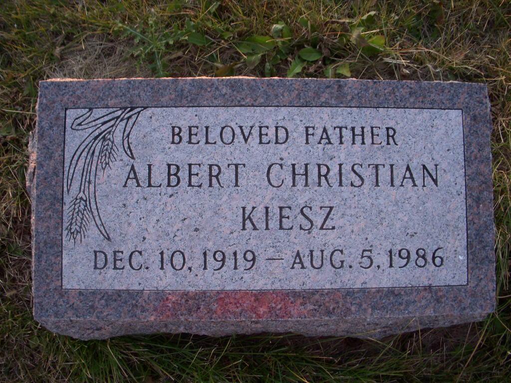 Albert Christian Kiesz