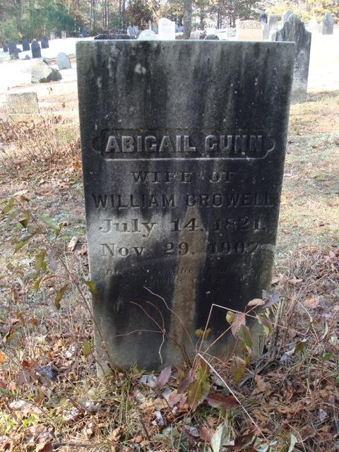 Abigail <i>Gunn</i> Crowell