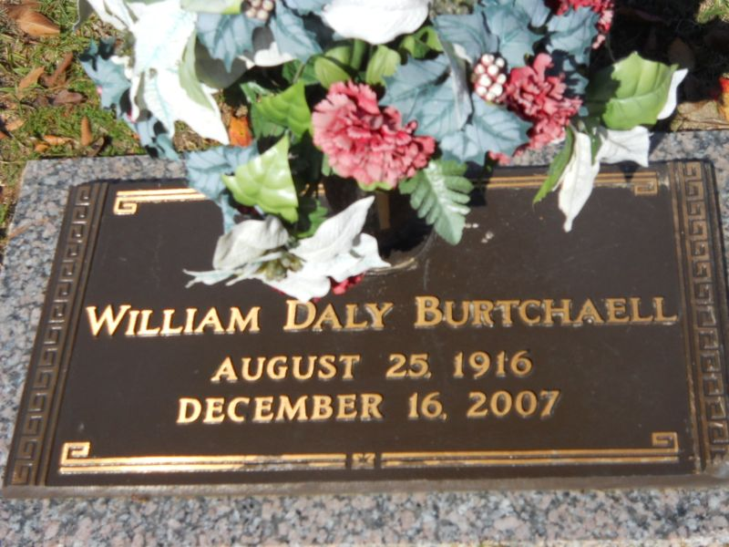 William Daly Burtchaell