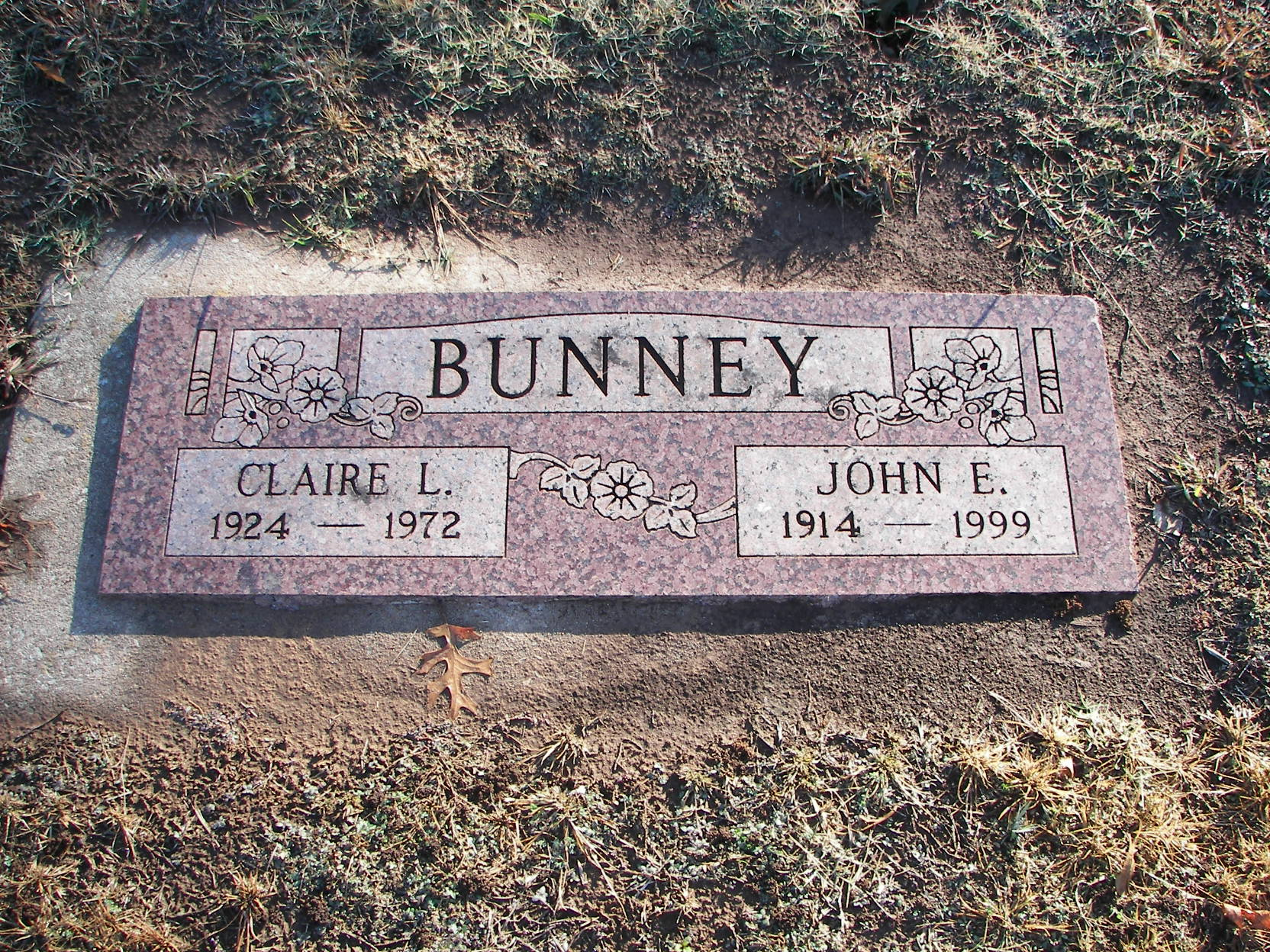 Claire Louise <i>Trotter</i> Bunney