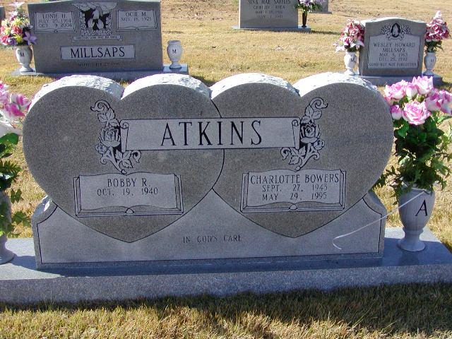 Charlotte <i>Bowers</i> Atkins