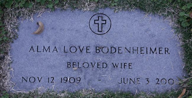 Alma <i>Love</i> Bodenheimer