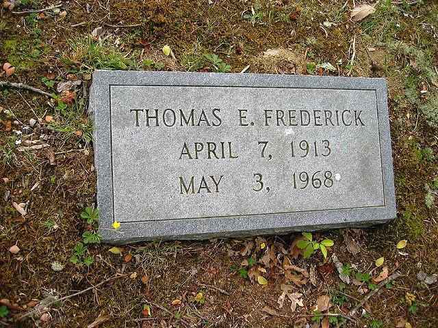 Thomas Earl Frederick