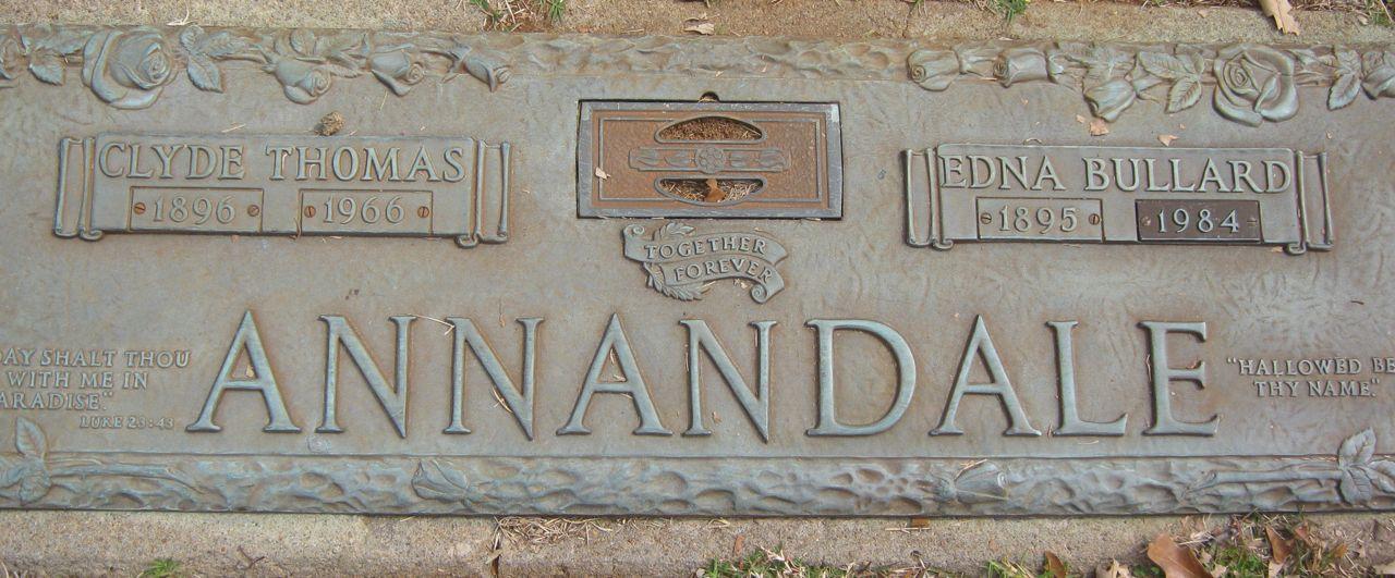 Edna <i>Bullard</i> Annandale