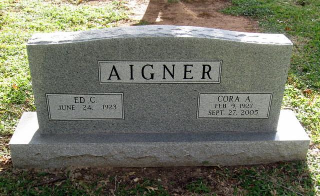 Cora Ann <i>Wolaver</i> Aigner