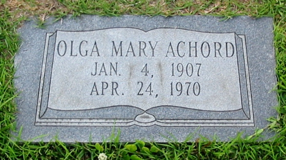 Olga Mary Achord