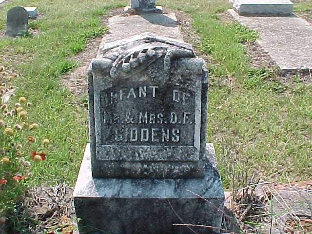Infant Giddens
