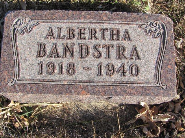 Albertha Bandstra