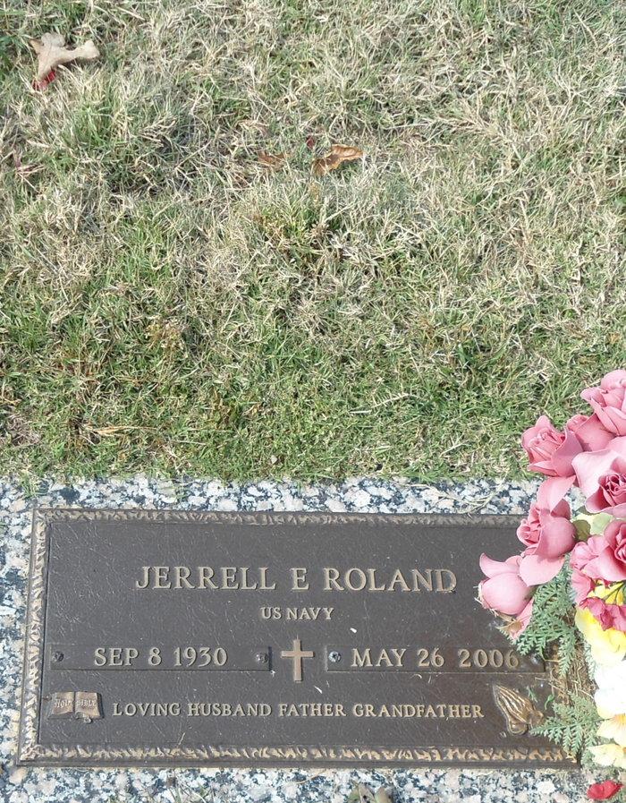 Jerrell Edward Jerry Roland