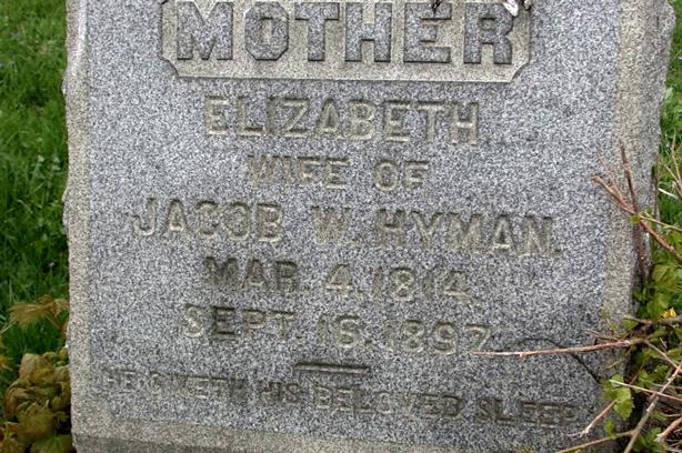 Elizabeth <i>Rothrock</i> Hyman
