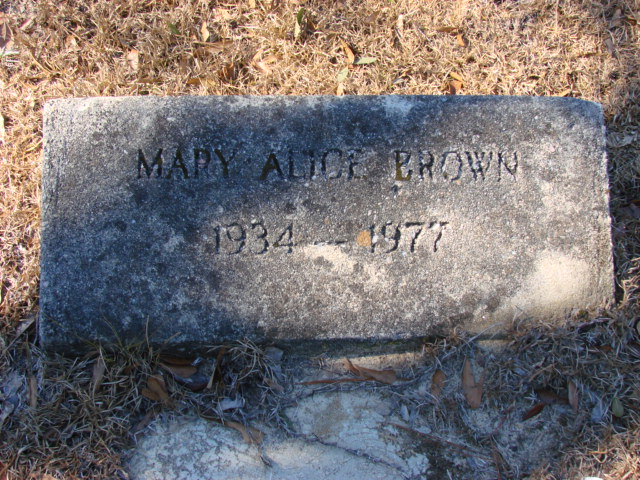 Mary Alice Brown