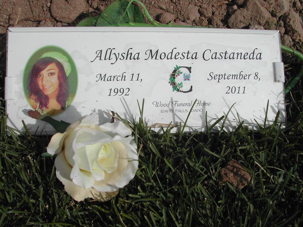Allysha Modesta Castaneda (1992-2011) - Find A Grave Memorial