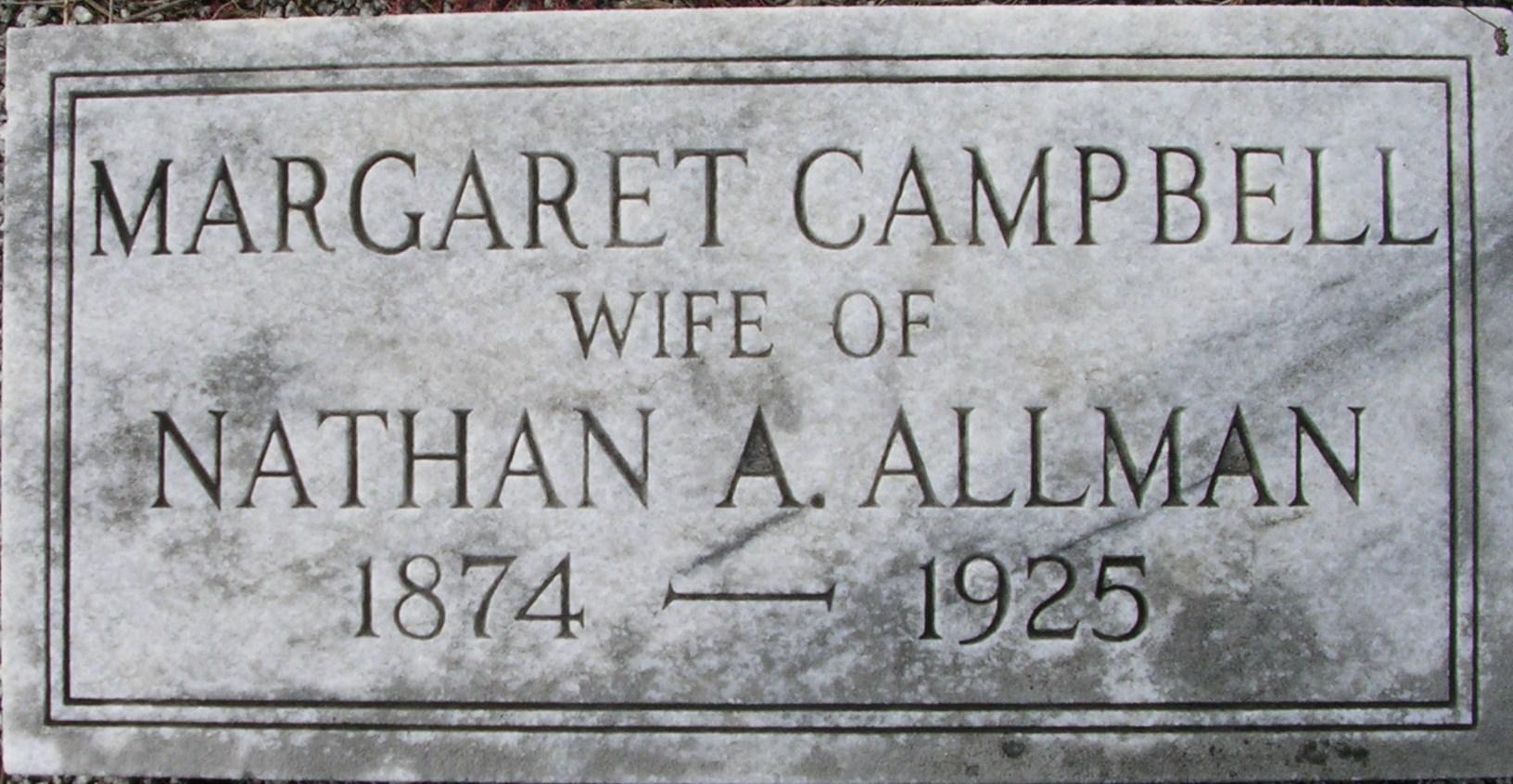 Margaret <i>Campbell</i> Allman