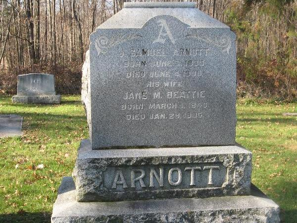 Jane M <i>Beattie</i> Arnott