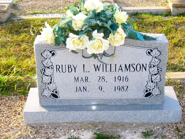 Ruby L. <i>Lane</i> Williamson