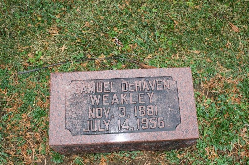Samuel DeHaven Weakley