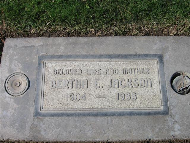 Bertha Esther <i>Devers</i> Jackson