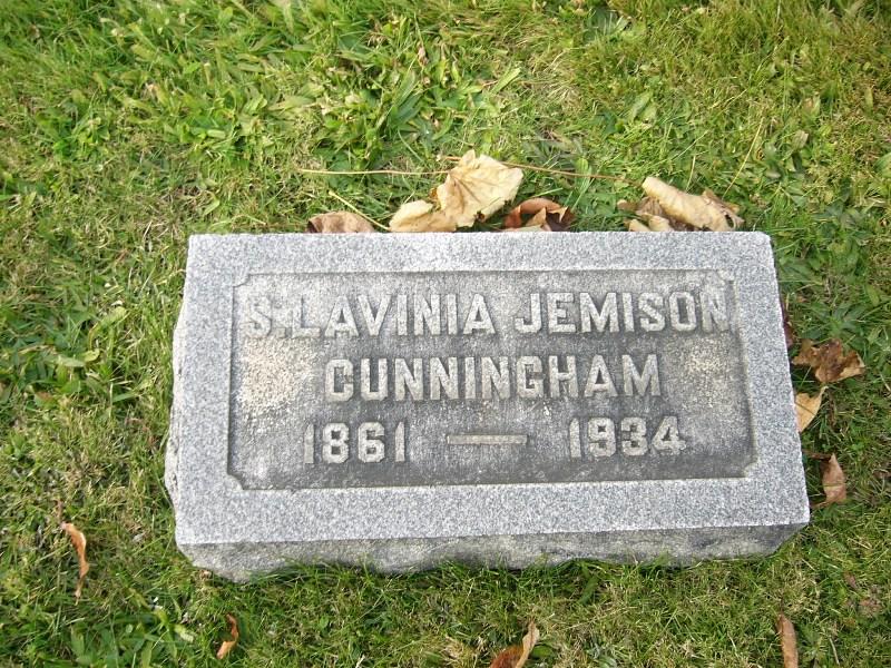 S Lavinia <i>Jemison</i> Cunningham
