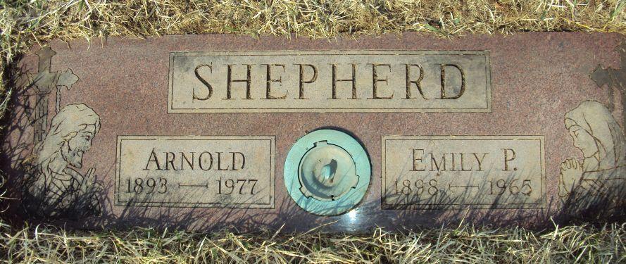 Emily Pamela Trinity Cissy <i>Shewan</i> Shepherd
