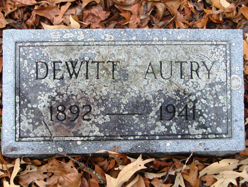 Elmer Dewitt Autry