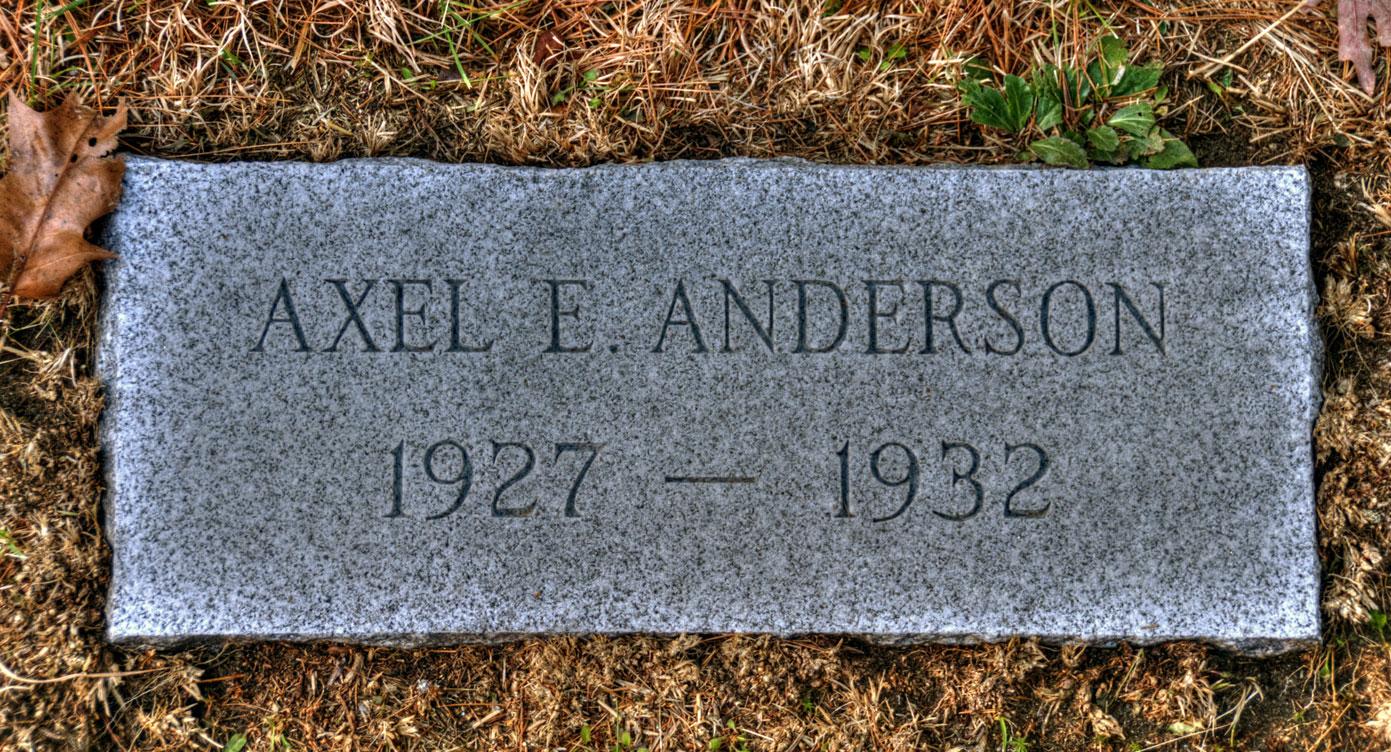 Axel E. Anderson, Jr