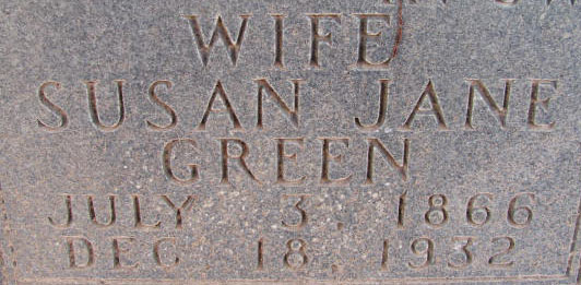 Susan Jane <i>Green</i> Avery