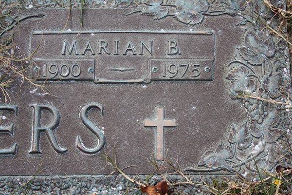 Marian Claudine <i>Boarman</i> Summers