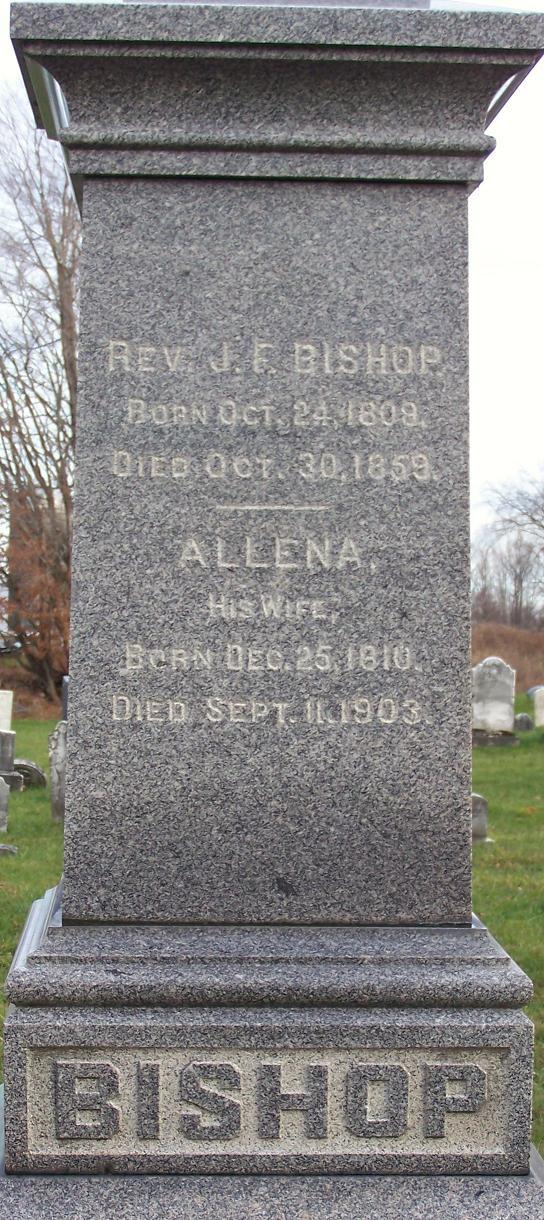 Allena <i>Brown</i> Bishop