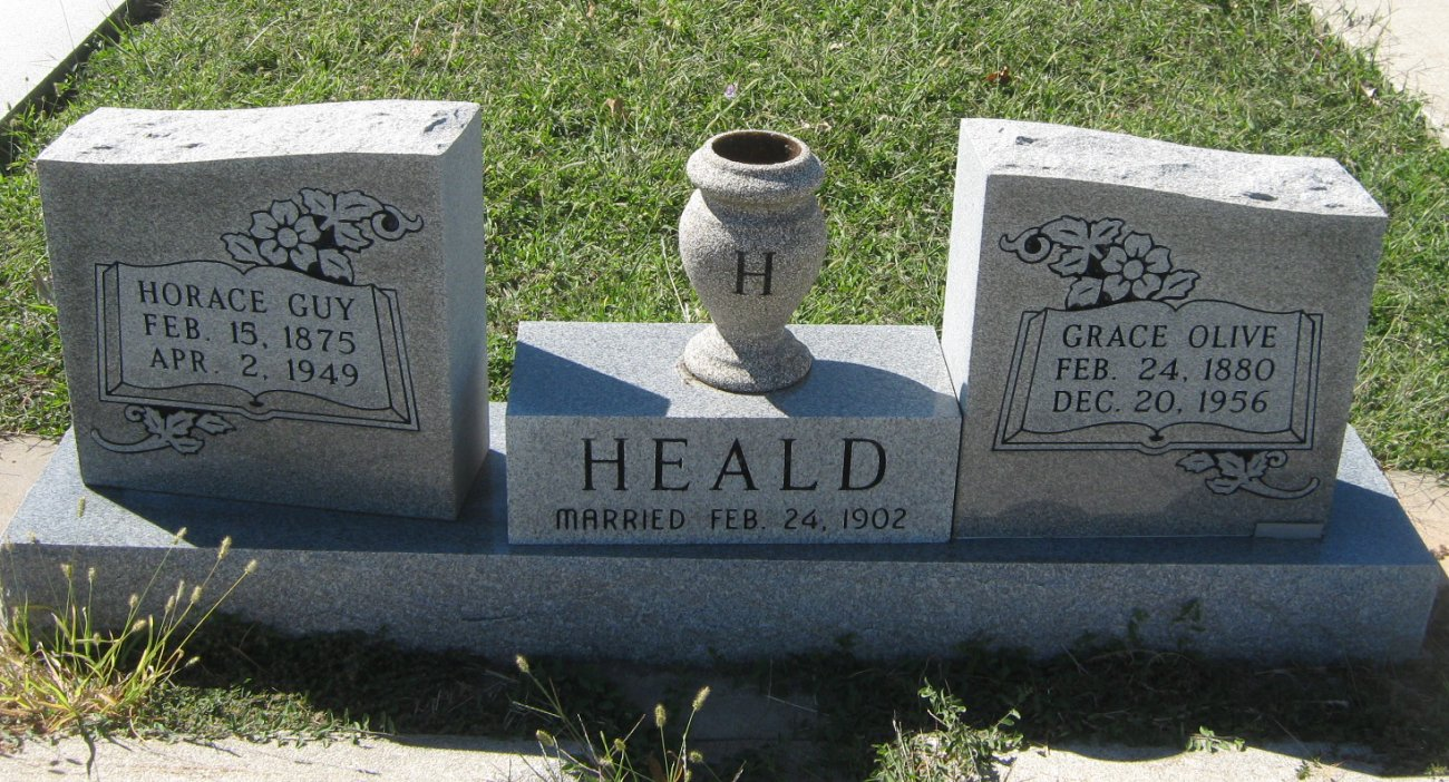 Grace Olive <i>Heston</i> Heald