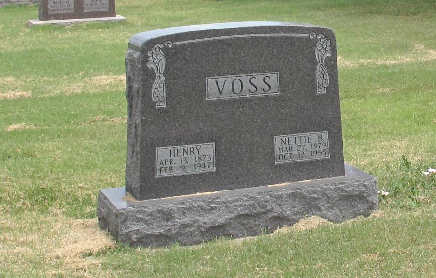 Nettie Blanche <i>Delano</i> Voss
