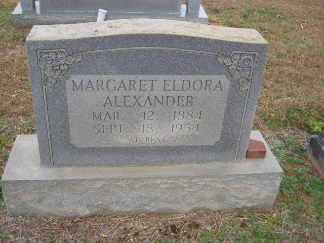 Margaret Eldora Alexander