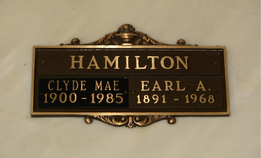 Earl Andrew Hamilton
