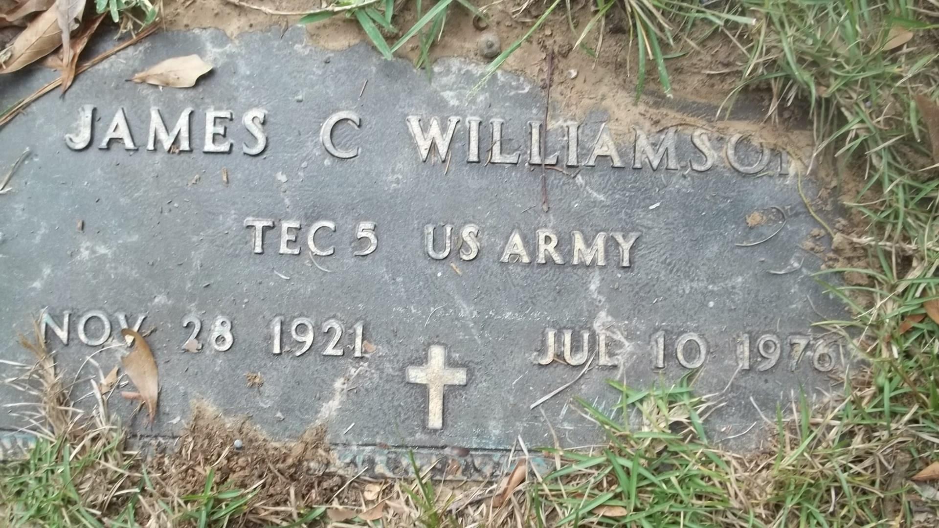 James Claiborne Williamson