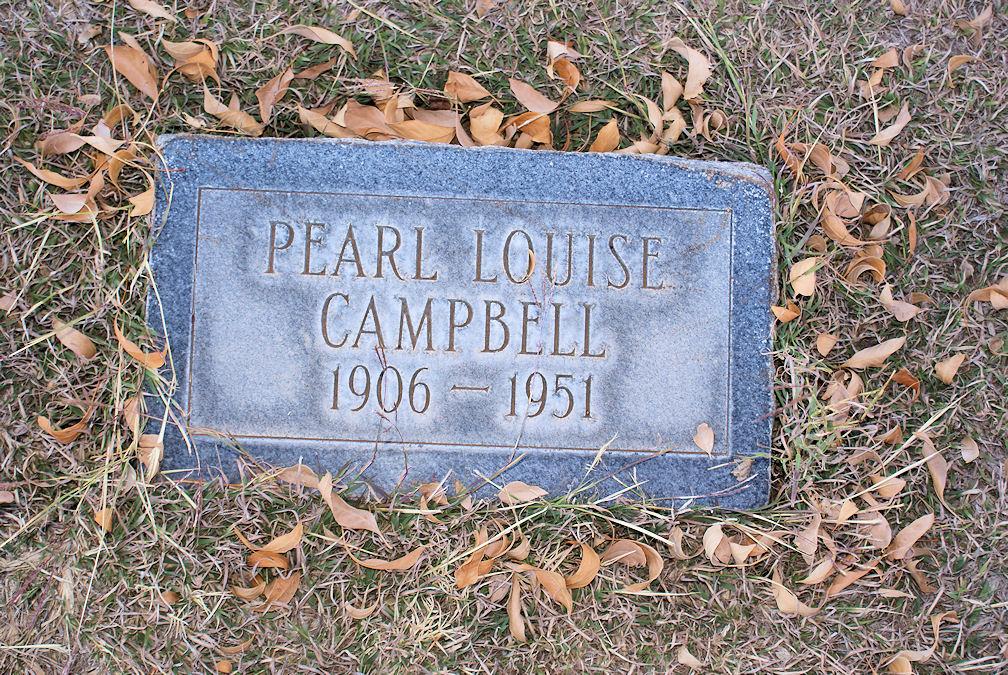 Pearl Louise <i>Condon</i> Campbell