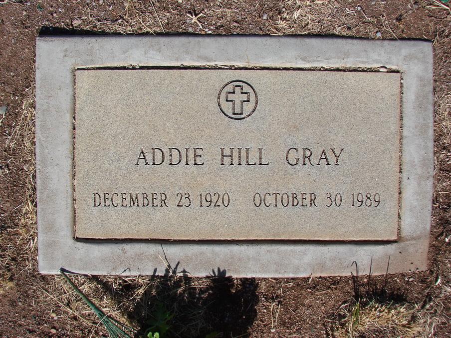 Addie <i>Hill</i> Gray