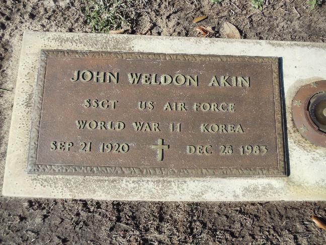 John W Akin