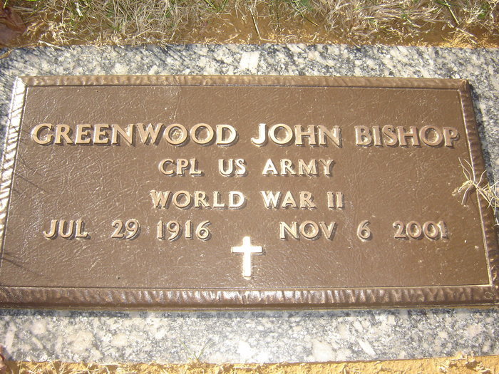 Greenwood John Bishop