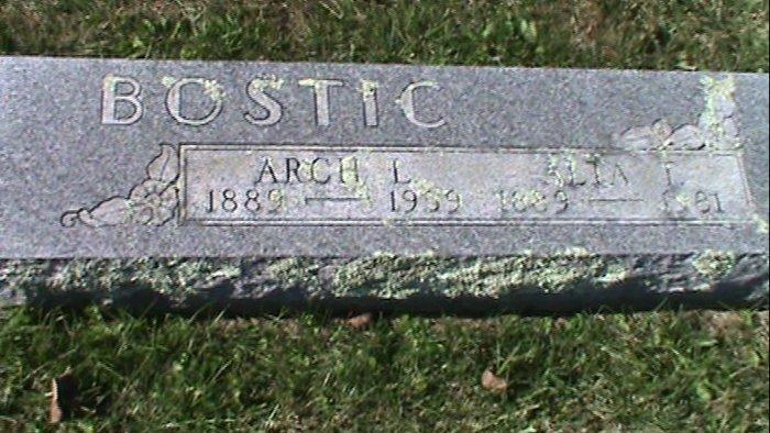 Archie Leland Arch Bostic